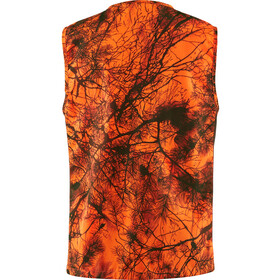 Fjällräven Värmland Chaleco Hombre, orange camo